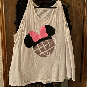 Disney Minnie Epcot Tank